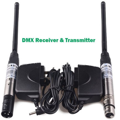 2.4G Wireless DMX512 Transmitter&receiver 7 ID