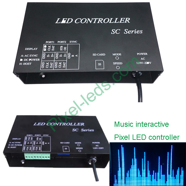 Music Interactive Pixel Sd Led Controller
