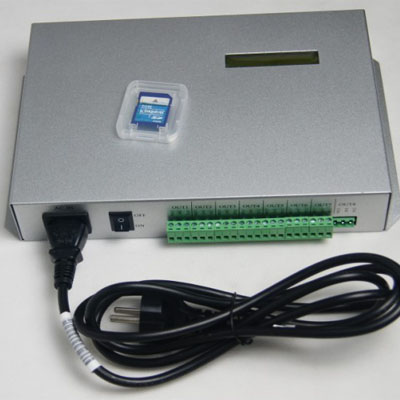 300K Ethernet 8192 pixels on-line LED controller