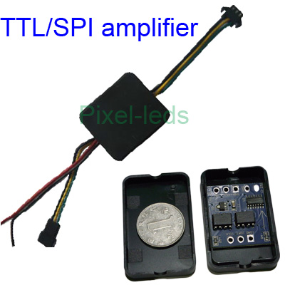 TTL/SPI signal amplifier for ws2811 ws2801